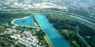 Jezero Jarun iz zraka