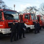 Vatrogasna vozila - vatrogasci