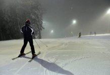 Noćno skijanje - Sljeme