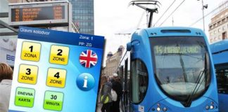 ZET - tramvaj - elektronička karta