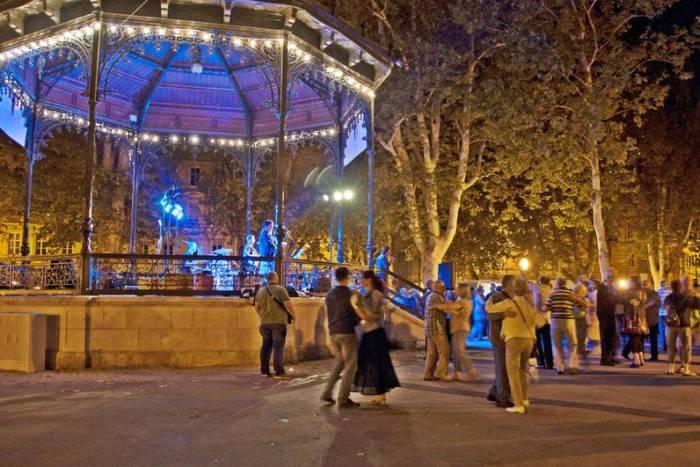 Zrinjevac - glazbeni paviljon