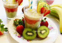 Proljetni smoothie s avokadom i jagodama