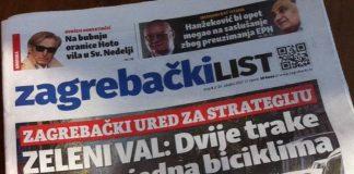 Nove Novine Od Danas Na Kioscima Tjednik Zagrebacki List Zg Express