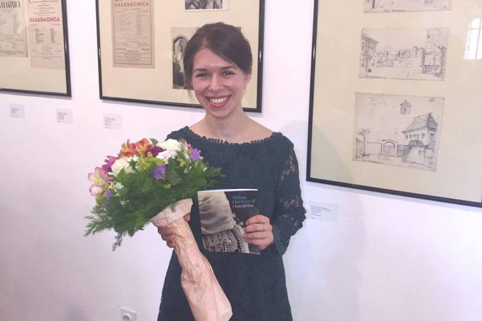 Autorica izložbe je mlada teatrologinja Anamarija Žugić