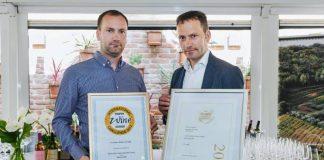 Vinarija Benvenuti - nagrade