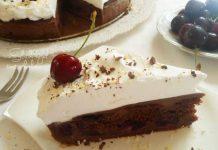 Čokoladna torta s trešnjama
