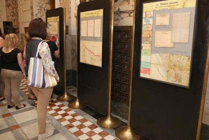 Hrvatski državni arhiv - izložba
