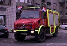 Vatrogasci - povratak iz Splita