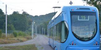 Tramvaj - linija 15
