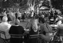 Plesne večeri na Zrinjevcu
