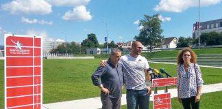 Stipe Žunić i Milan Bandić