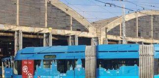 Zagreb i Mainz - oslikani tramvaj