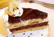 Choco banana torta