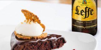 Leffe brownie torta