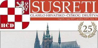 Hrvatsko-češko društvo - časopis Susreti