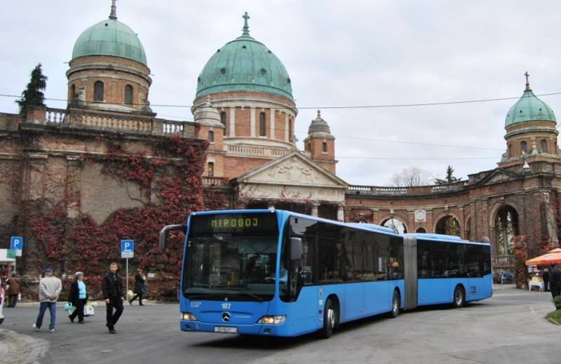 ZET - autobus - Mirogoj