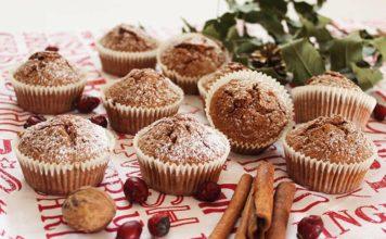 Božićni muffini sa začinima za medenjake