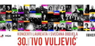 Lisinski - nagrada Ivo Vuljević