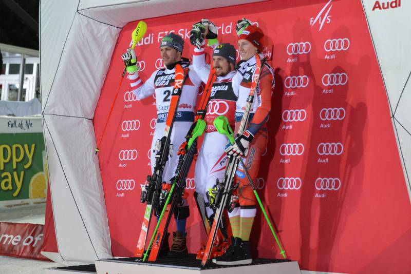 Marcel Hirscher - Sljeme - Snow Queen Trophy 2018.