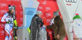 Mikaela Shiffrin - Snow Queen Trophy 2018. - Sljeme