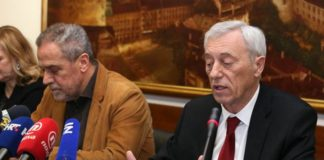 Milan Bandić i Stjepan Kožić