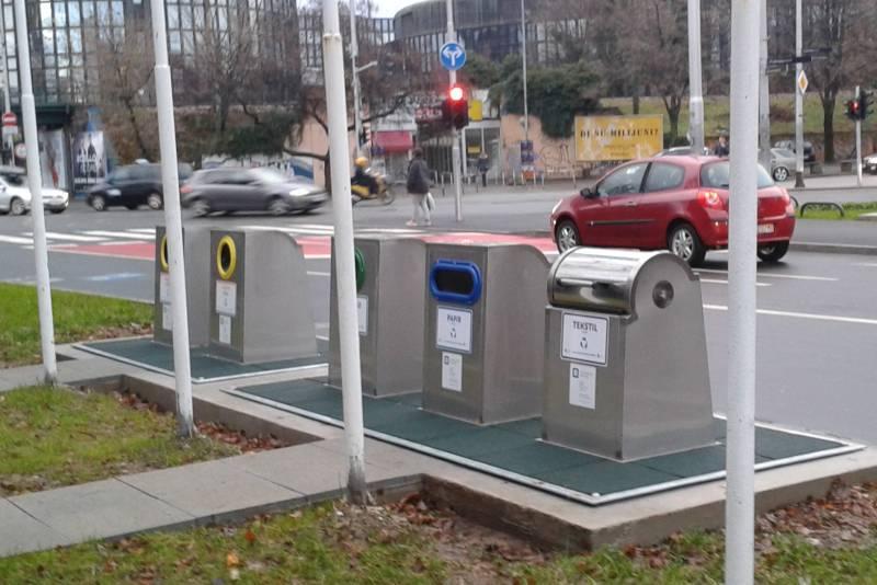 Podzemni spremnici za odvojeno skupljanje otpada
