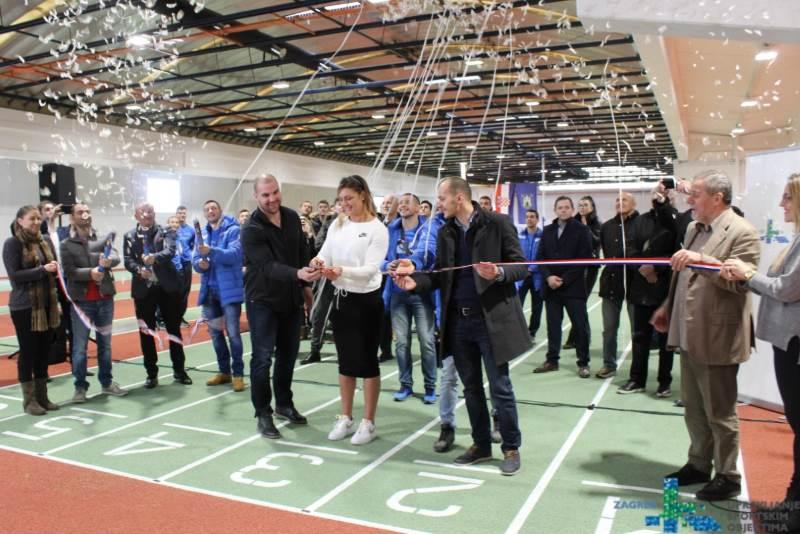 Atletsku dvorana na Zagrebačkom velesajmu