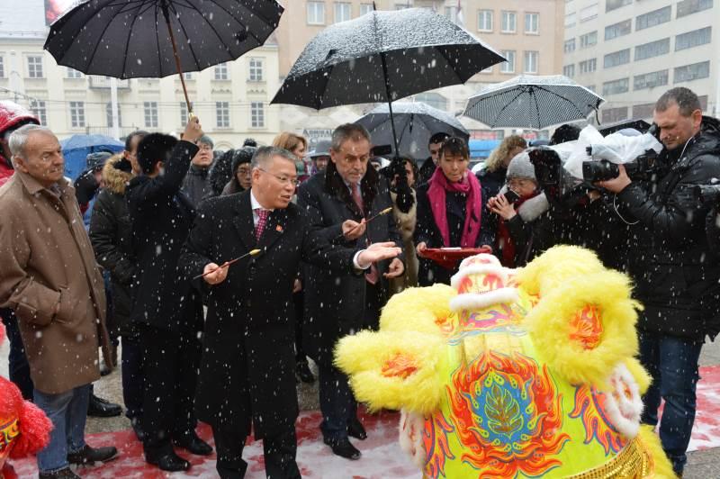 Kineska nova godina - Trg bana Jelačića