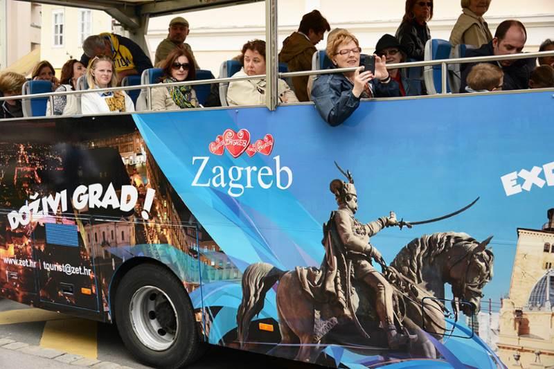 Zagreb - turisti