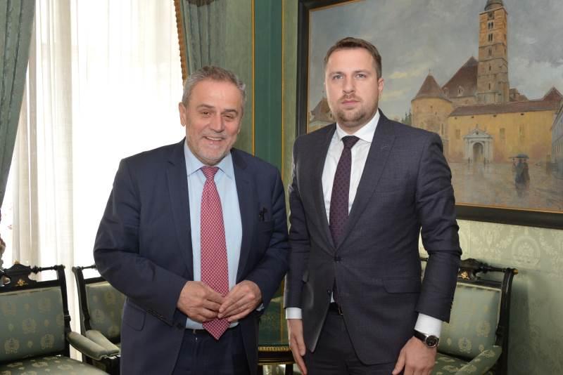 Milan Bandić i Abdulah Skaka