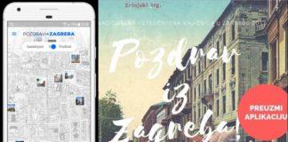 Pozdrav iz Zagreba - aplikacija