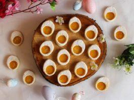 Uskrsni keksi u obliku jaja