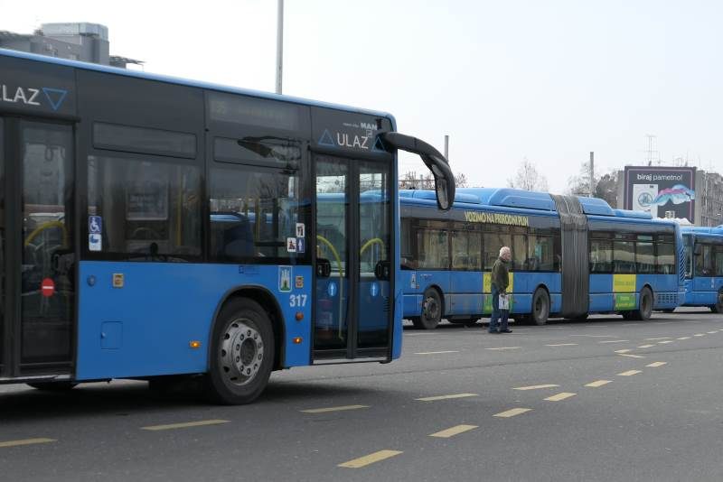 Autobusna Linija 119 Crnomerec Podsused Most Vozi Izmijenjenom