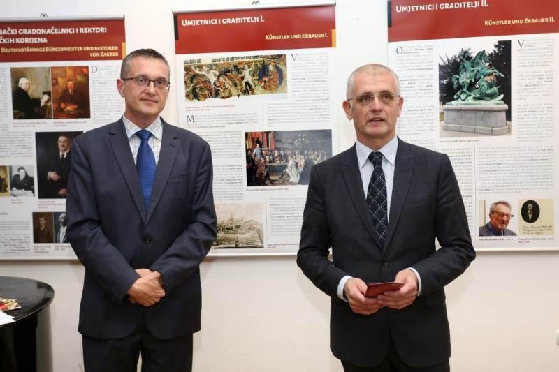 Damir Mikuljan i Goran Beus Richembergh - Izložba Nijemci u Zagrebu i okolici kroz stoljeća