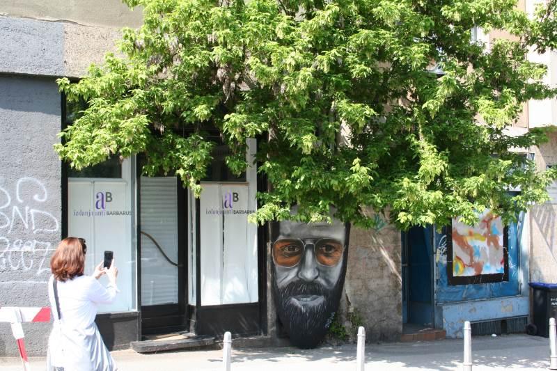 Street art - Ribnjak