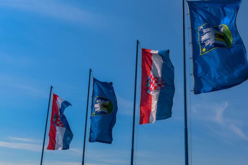 Zagreb - zastave
