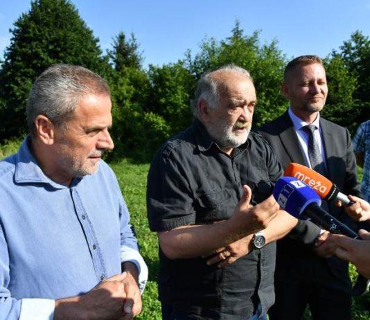 Milan Bandić i Krešo Beljak