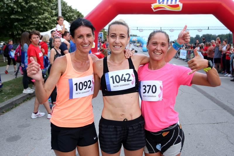 dm ženska utrka 2018 - Marija Vrajić, Biljana Cvijanović i Željka Šaban Miličić - tri prvoplasirane u natjecateljskom dijelu