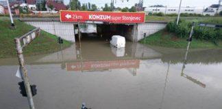 Škorpikova - poplava