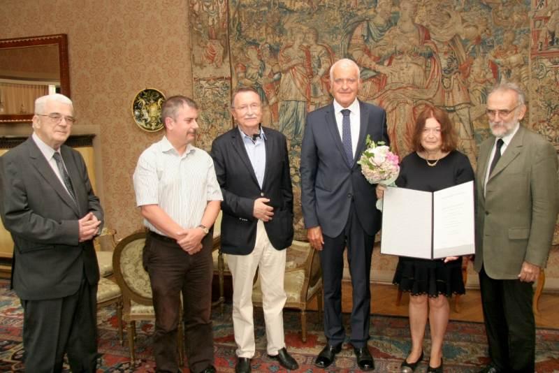 Jadranki Gvozdanović dodjeljena povelja dopisne članice HAZU