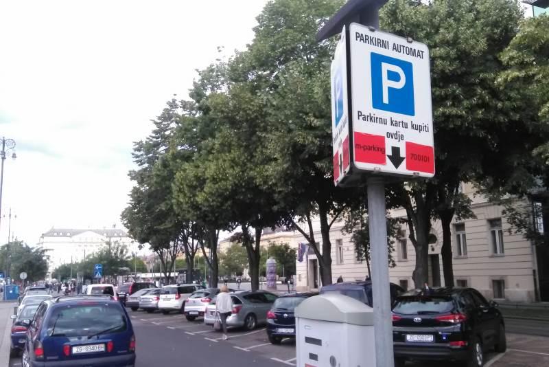 Parkiranje - prva zona