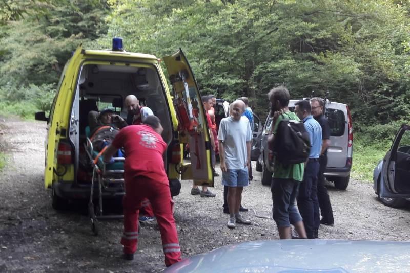 DRAMA NA SLJEMENU: Muškarac išao po vodu i pao u provaliju, spasio ga HGSS
