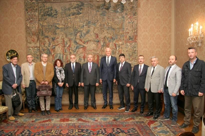 Mahmut Ak, rektor Istanbulskog sveučilišta, posjetio HAZU