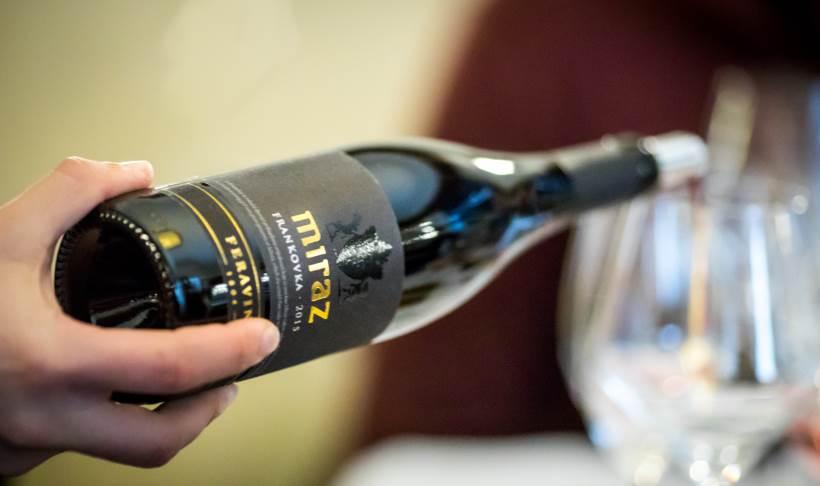PRVI FESTIVAL FRANKOVKE: Pobjednik je Frankovka Miraz 2015., vino izraženo sortnog mirisa