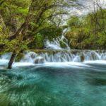 Plitvička jezera - slapovi Milke Trnine
