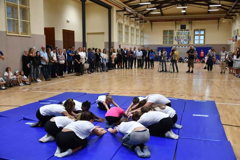 U OŠ Izidora Kršnjavoga otvorena obnovljena sportska dvorana