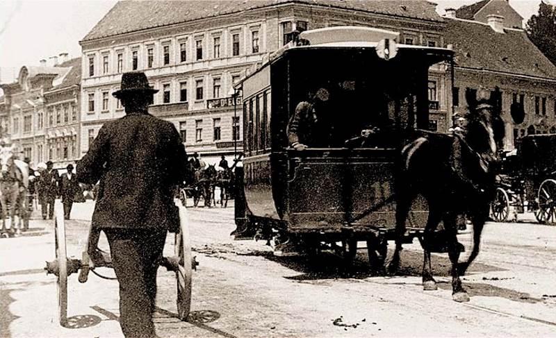 Tramvaj s konjskom vučom