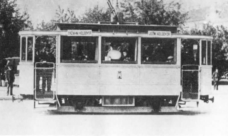 Prvi električni tramvaj u Zagrebu u promet je pušten 18. kolovoza 1910. godine
