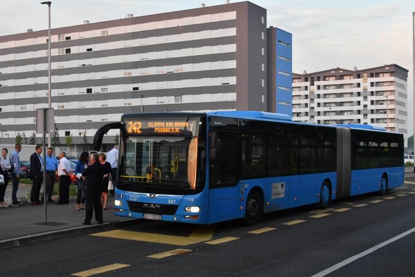 NOVA LINIJA ZA NOVO NASELJE: Od danas autobus 242 vozi na relaciji Glavni kolodvor – Podbrežje
