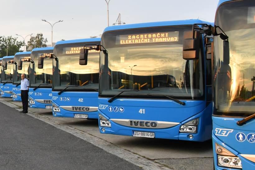 ZET predstavio 30 novih poluniskopodnih gradskih autobusa